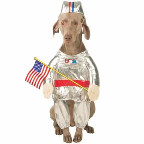 Pet Astronaut USA Dog Costume