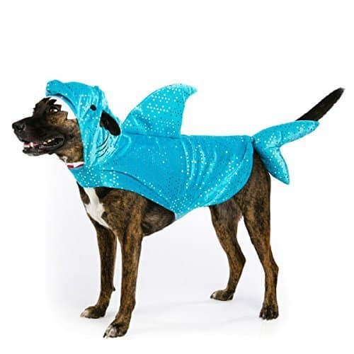 Sparkly Shark Dog Dress Up Costume
