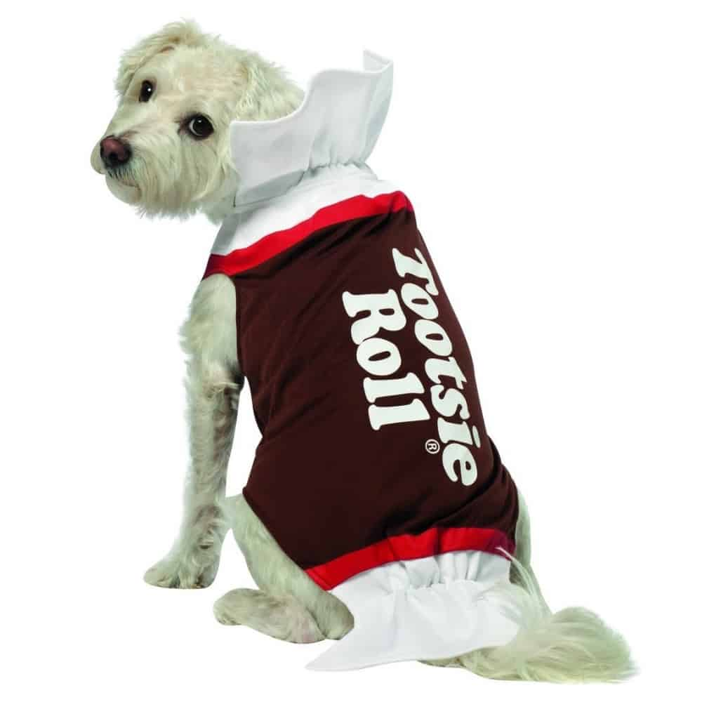 Tootsie Roll Dog Outfit
