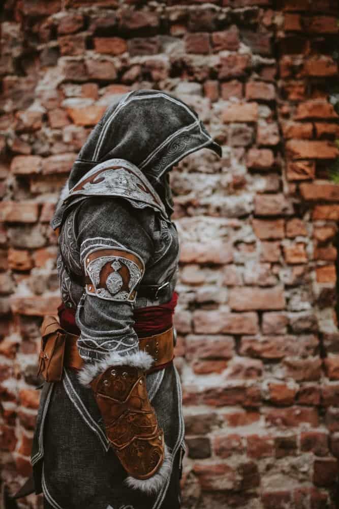 Men Hoodies Green Inspired assassins cosplay