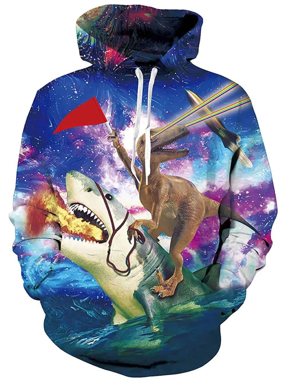 Men Hoodies & Sweatshirts Velociraptor