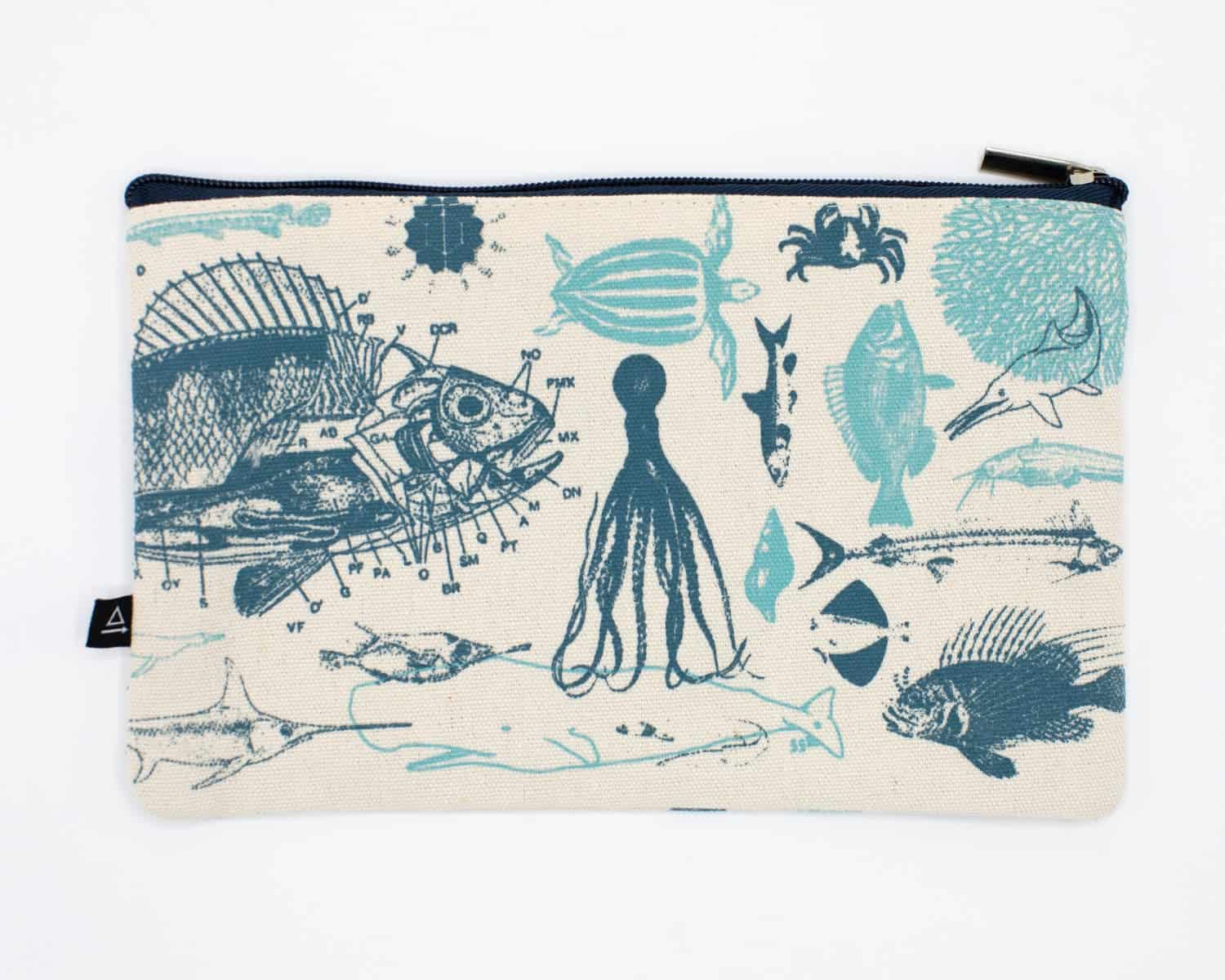 CognitiveSurplus Marine Biology Pencil Case