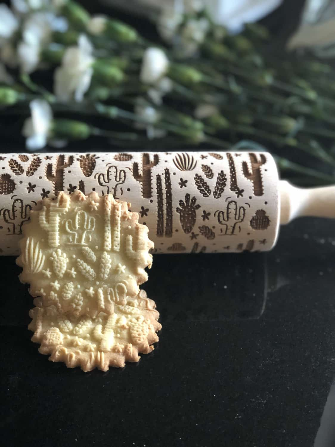 GOODYWOODYcompl Cactus Rolling Pin