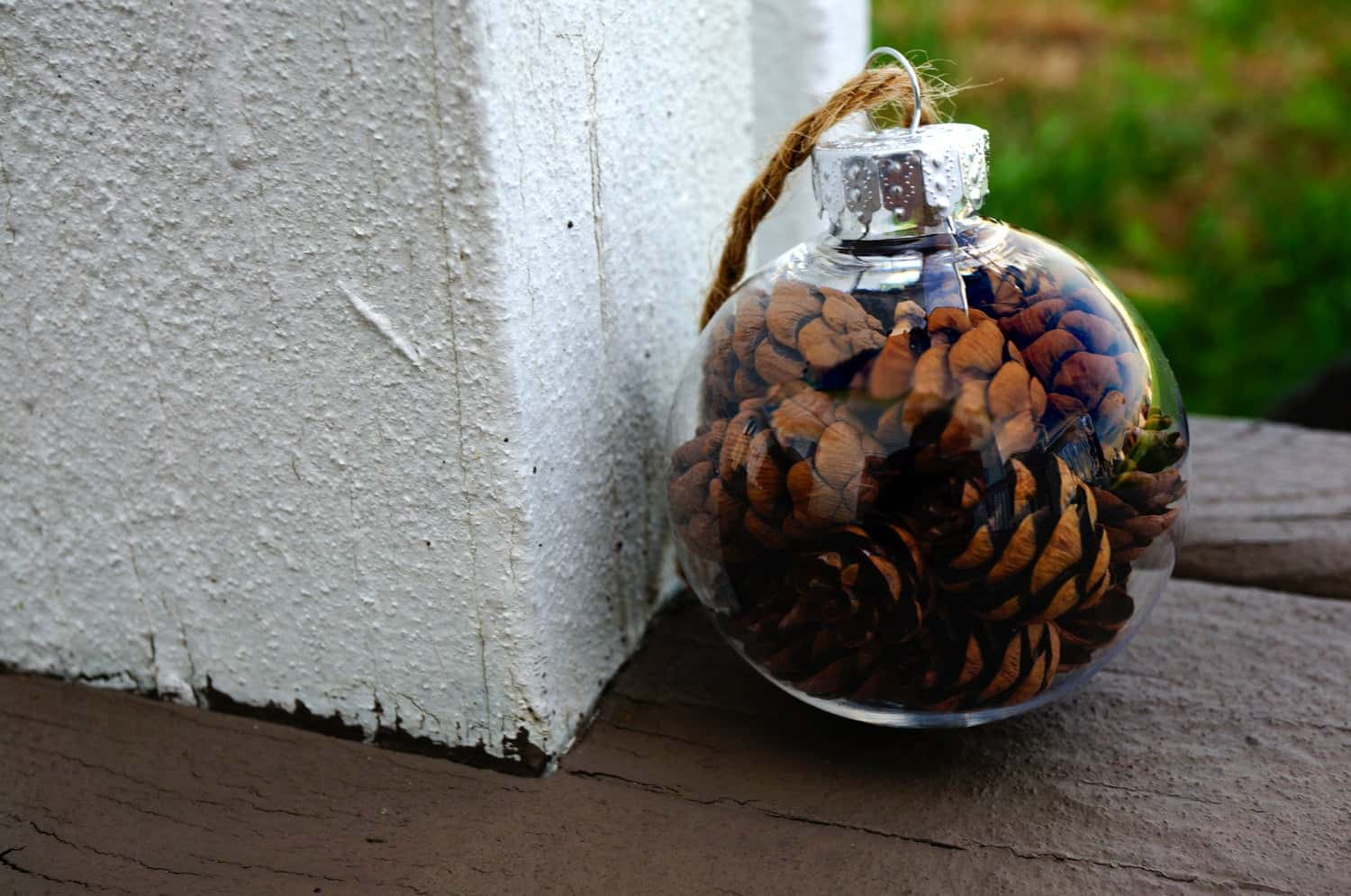 LettersByLilly Pinecone Christmas Ornament