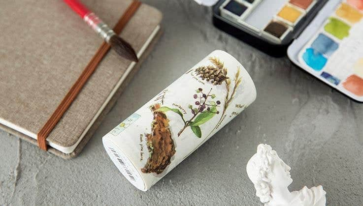 zakkalover Plant Biology Japanese Washi Masking Tape