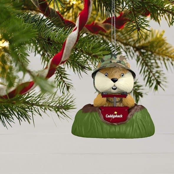 Hallmark Caddyshack A Dynamite Gopher Christmas Ornament Novelty Item
