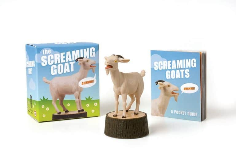 The Screaming Goat Toy Funny Gag Gift