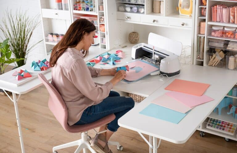 DreamBox Pop-Up Mobile Craft Station Side Table Options