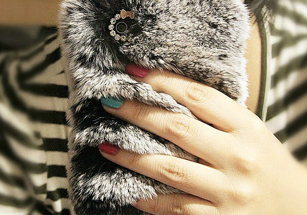 Rabbit's Fur Iphone Case Buy Girly Stuff
