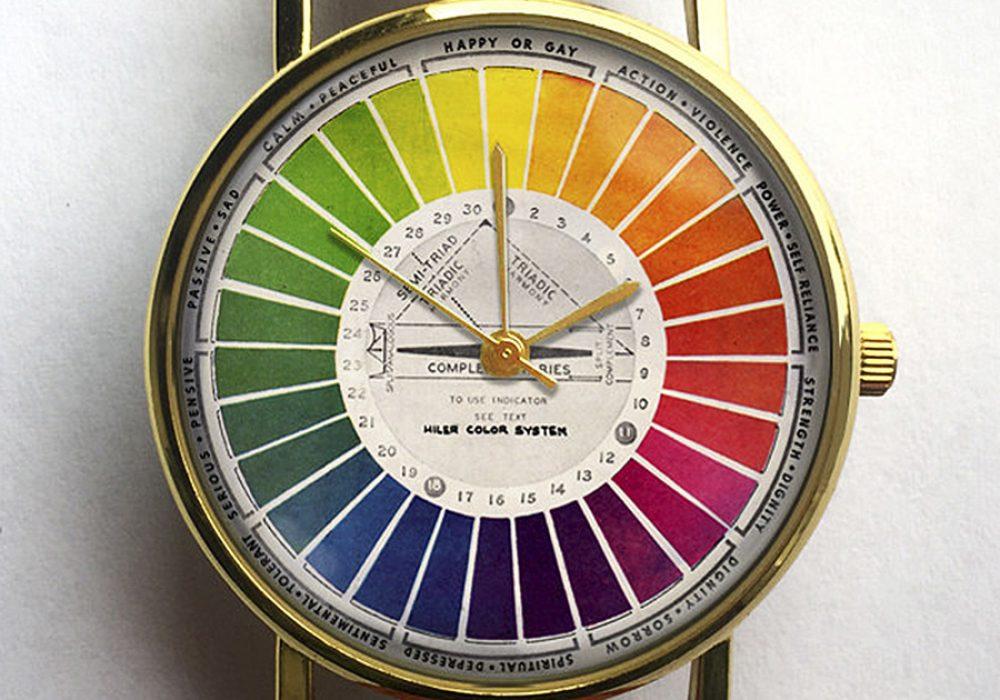 10 North Creative Vintage Color Wheel Watch Quartz