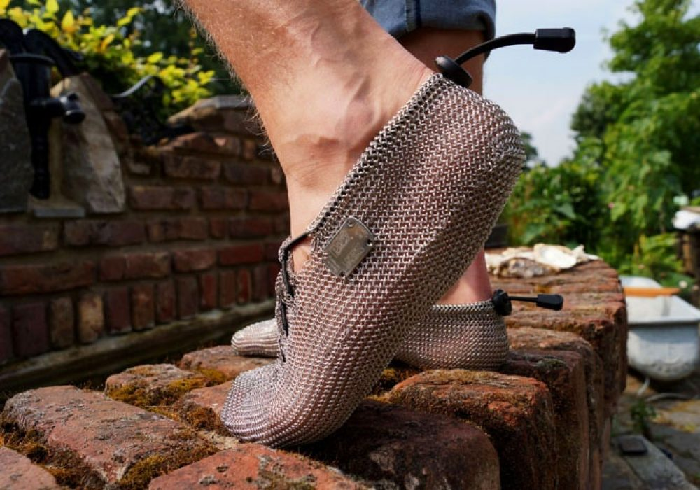 Chainmail Barefoot Shoes Cool Outdoor footwear