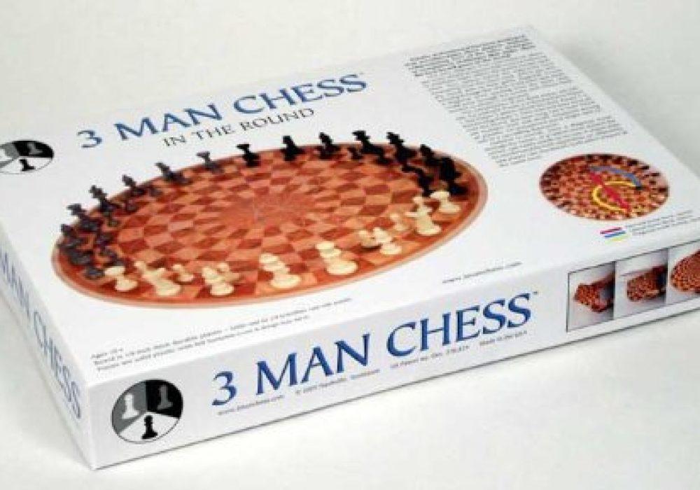 3 Man Chess Box Packaging