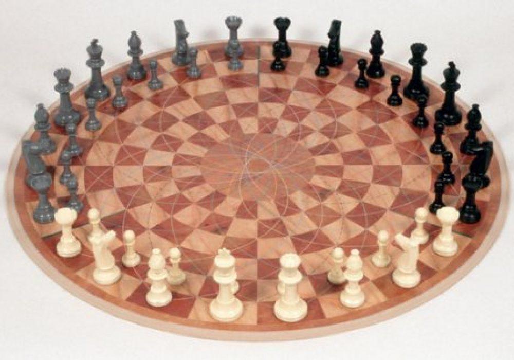 3 Man Chess Geek Gift