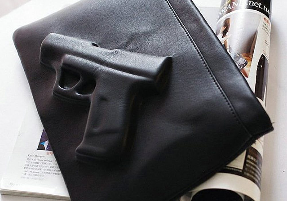 3D Gun Handbag Gift Idea to Her