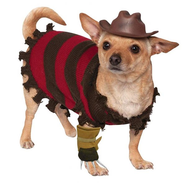 A Nightmare on Elm Street Freddy Krueger Pet Costume