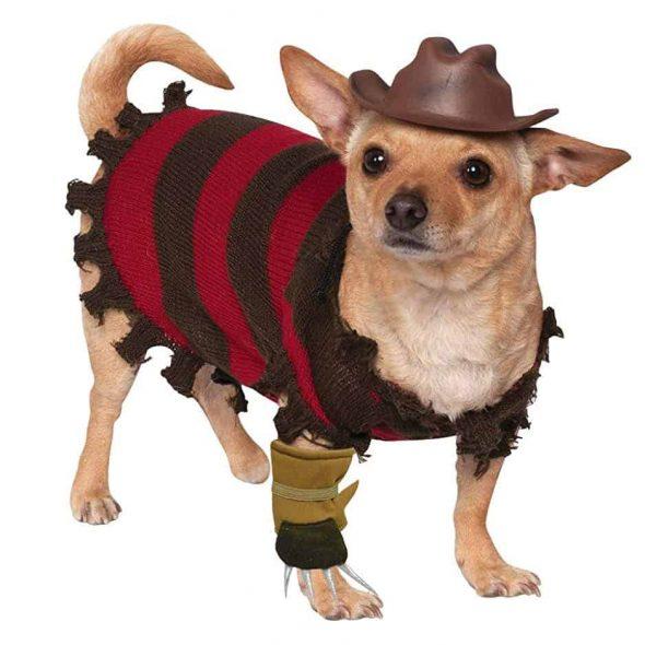A Nightmare on Elm Street Freddy Krueger Pet Costume
