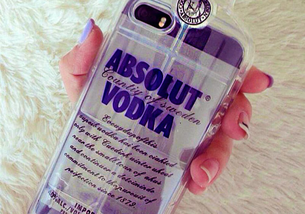 Absolut Vodka iPhone Soft Cover Cool Case to Buy