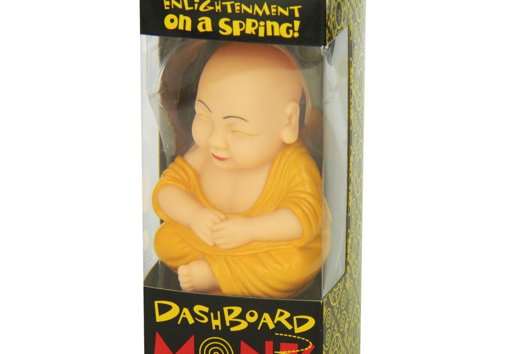 Accoutrements Dashboard Monk Gag Gift Idea