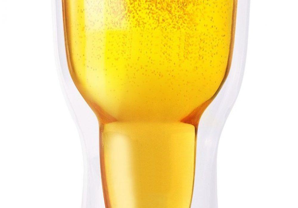 Acrylic Beer Tumbler Black Lid