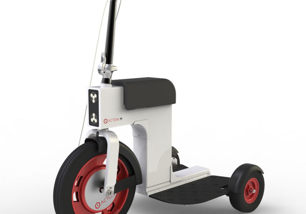 Acton M Scooter Standing Mode