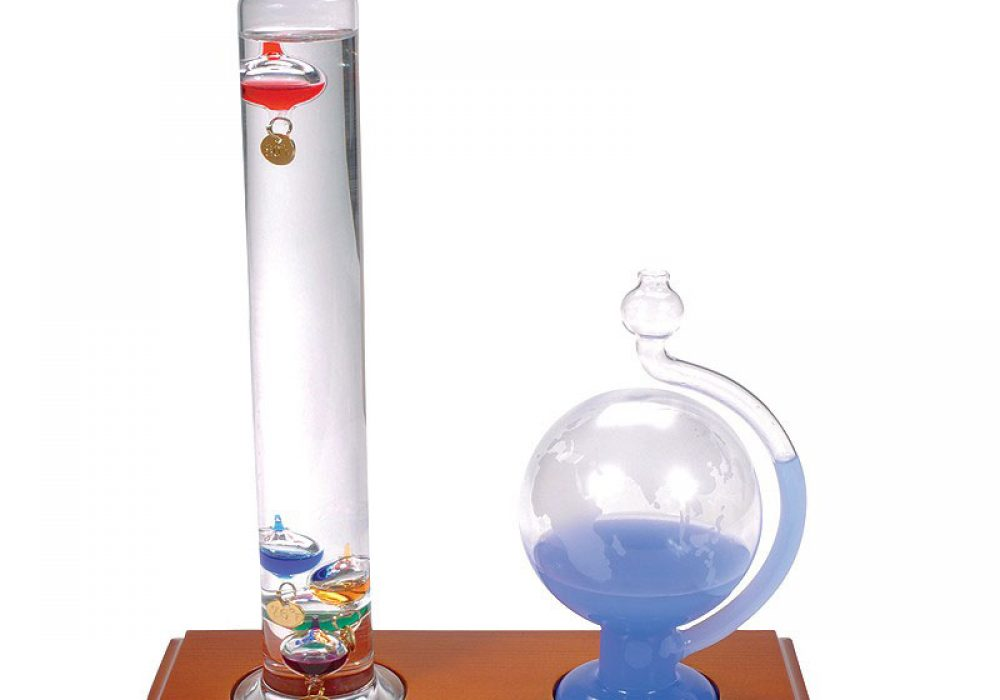 AcuRite Galileo Thermometer with Glass Globe Barometer Cool Scientific. Tool to Buy