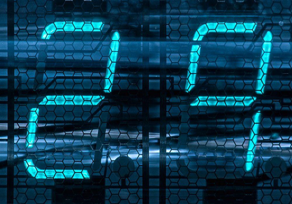 Adafruit Ice Tube Clock Kit Vacuum Flourescent