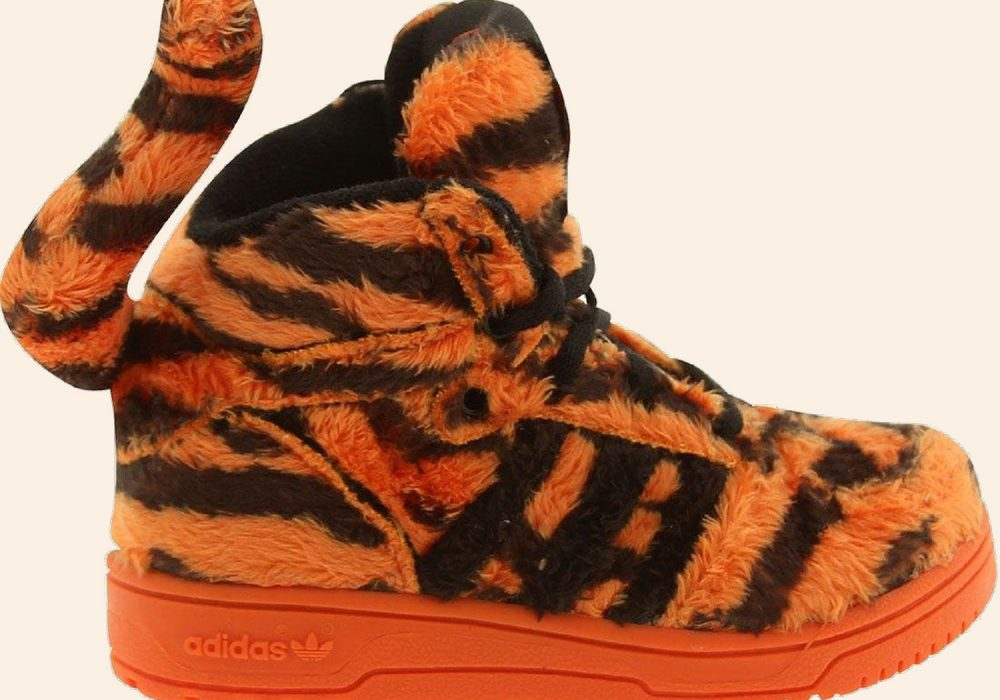 Adidas Jeremy Scott Tiger Toddler Sneakers to Buy