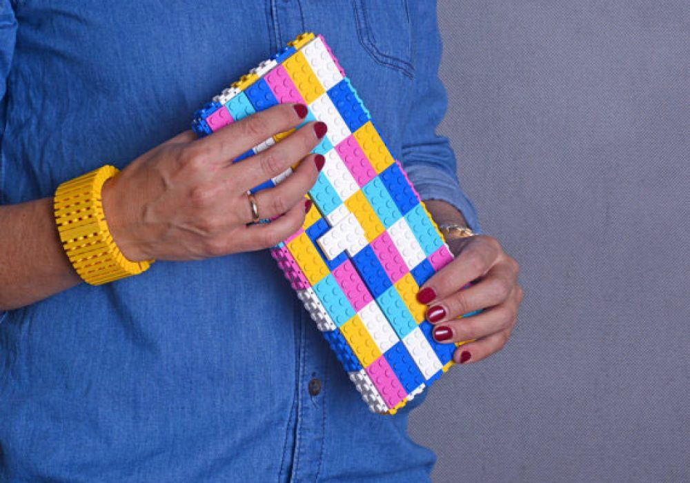 Agabag Multicolor Candy Clutch Cute Gift Idea for Her