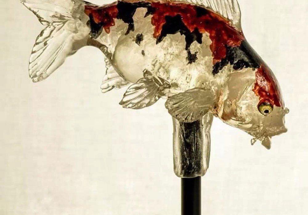 Ameshin Realistic Animal Lollipops Koi