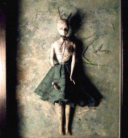 Anjelica Altered Barbie Doll