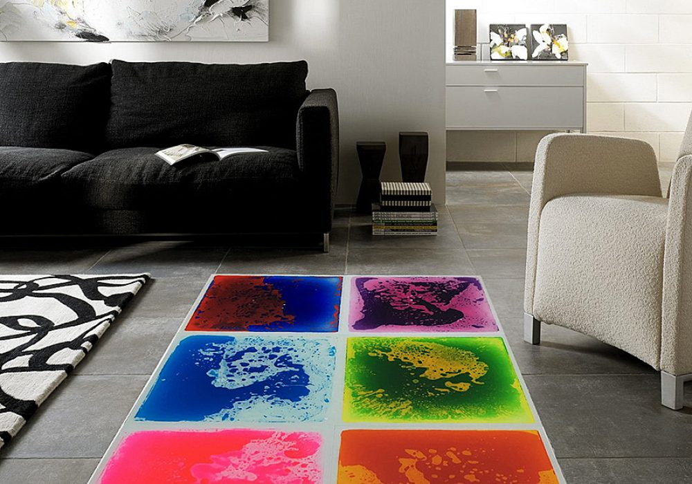 Art3d Liquid Fusion Dance Floors Floor Tile