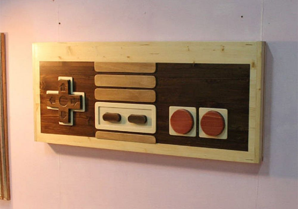 Artem Faber Design Nintendo Coffee Table Wall Art Decoration