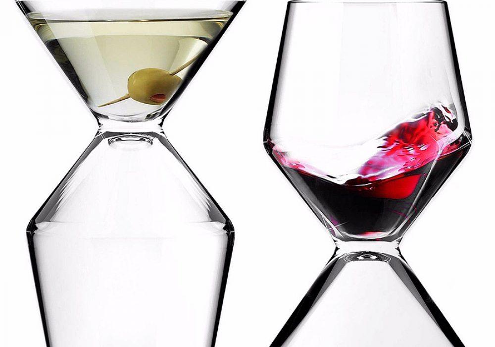 Asobu Vino Tini Wine and Martini Glass Glassware