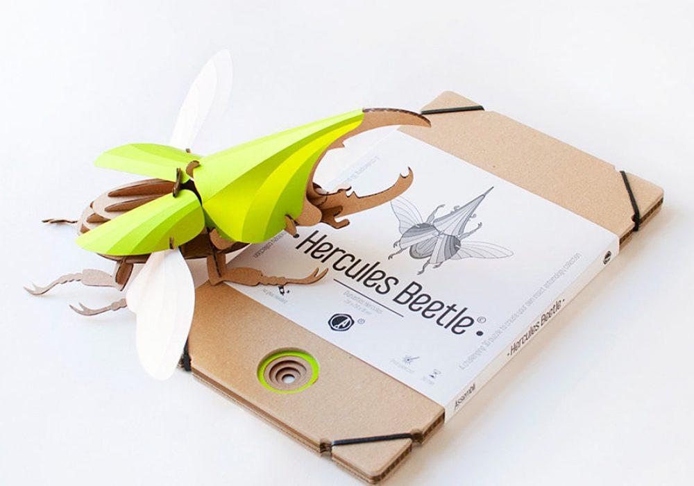Assembli Shop Hercules Beetle Kit 3D Puzzle Kit