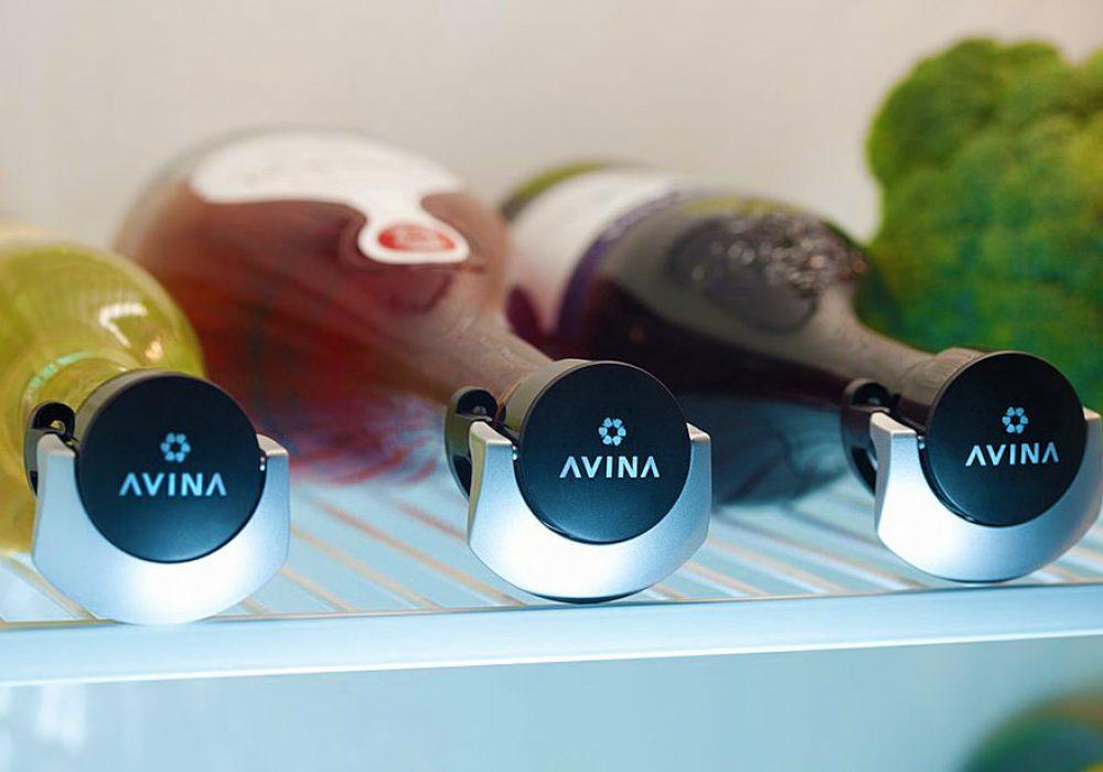 Avina Locking Wine Stopper Cool Kitchen Gadget to Buy