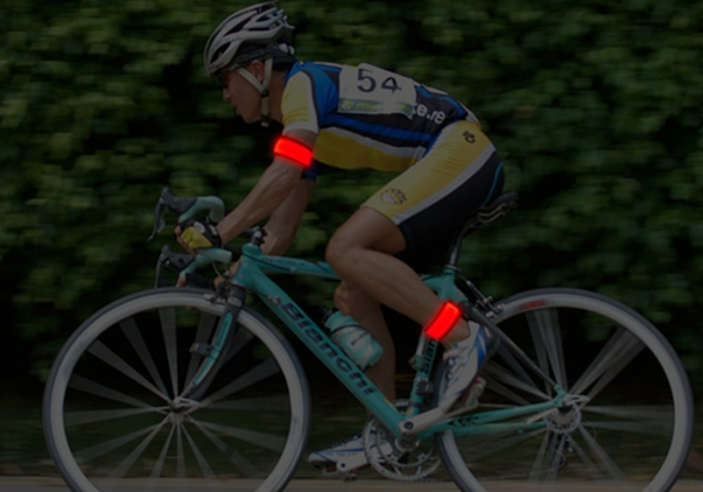 BSeen LED Slap Band Glow in the Dark