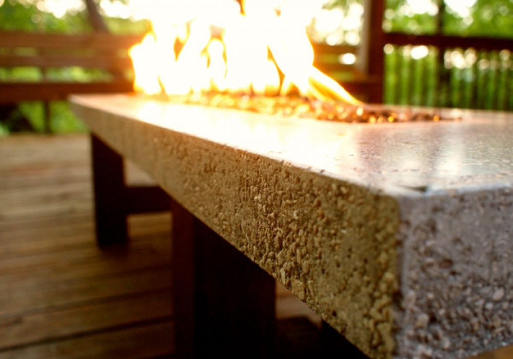 BSquared Inc Fire Pit Fire Table Modern Design