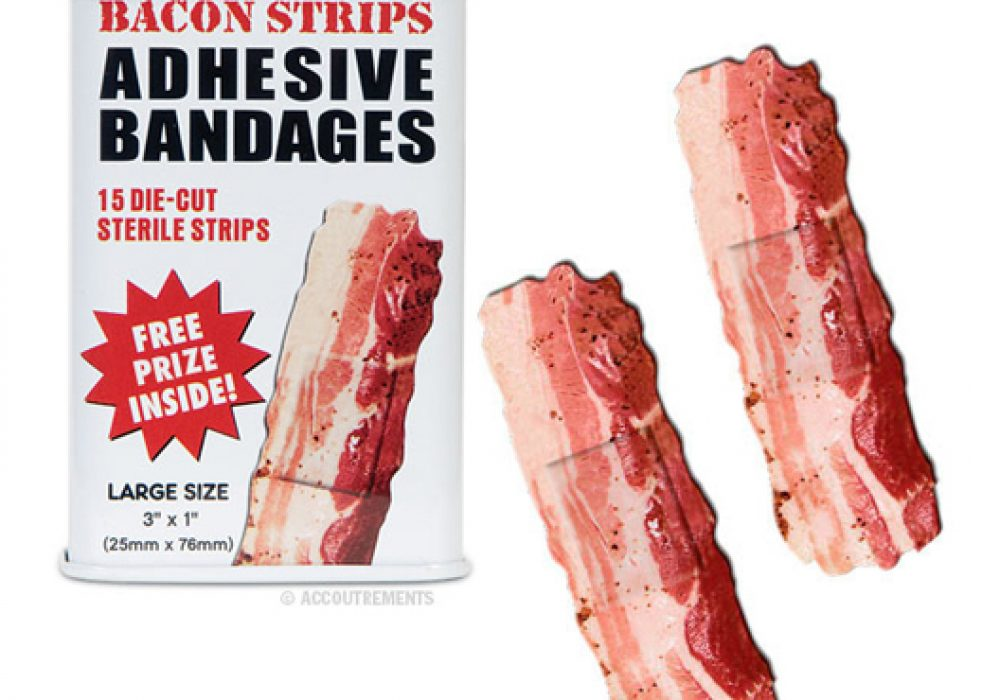 Bacon Strips Adhesive Bandag Cool Gift Ideas