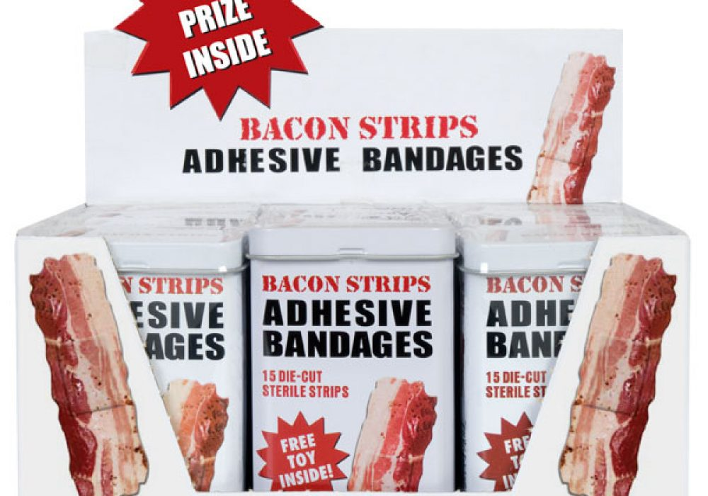 Bacon Strips Adhesive Bandage3