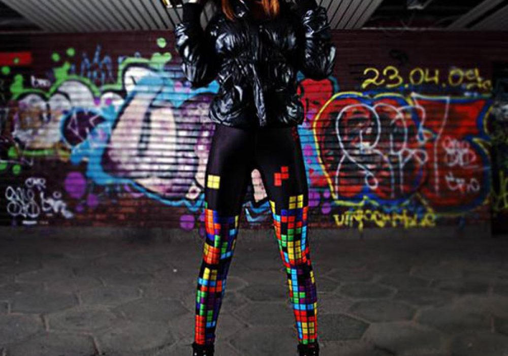 Bad Inka Tetris Leggings Cool Geek Fashion