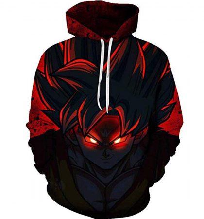 Men Hoodies & Sweatshirt 3D Printed Dragon Ball Z Pocket Long Sleeve Goku Pullovers