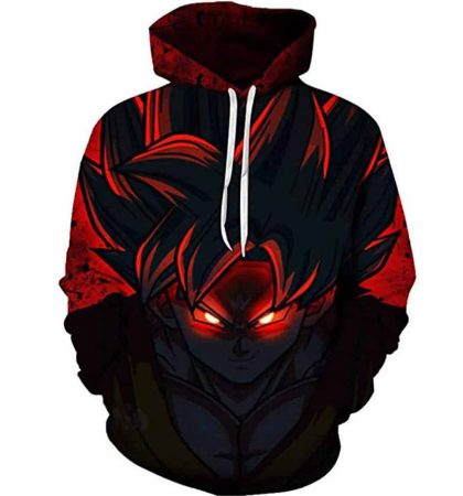 Men Hoodies & Sweatshirt 3D Printed Dragon Ball Z Pocket Long Sleeve Goku Pullovers