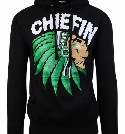 Men Hoodies Chiefn Smoke Weed Sweater