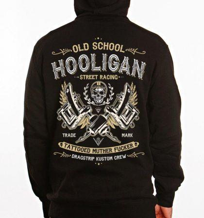 Men Hoodies Dragstrip Clothing Hooligan Life Hooded Top Biker