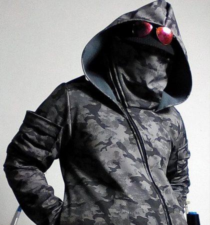 Men Hoodies Hylo Hoodie tactical dark street urban military post apocalyptic clothing