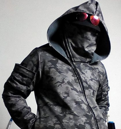 Men Hoodies Hylo Hoodie tactical dark street urban military post apocalyptic clothing