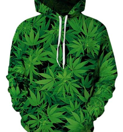 Men Hoodies Unisex 3D Printed Pullover Long Sleeve Fleece Hooded with Pockets