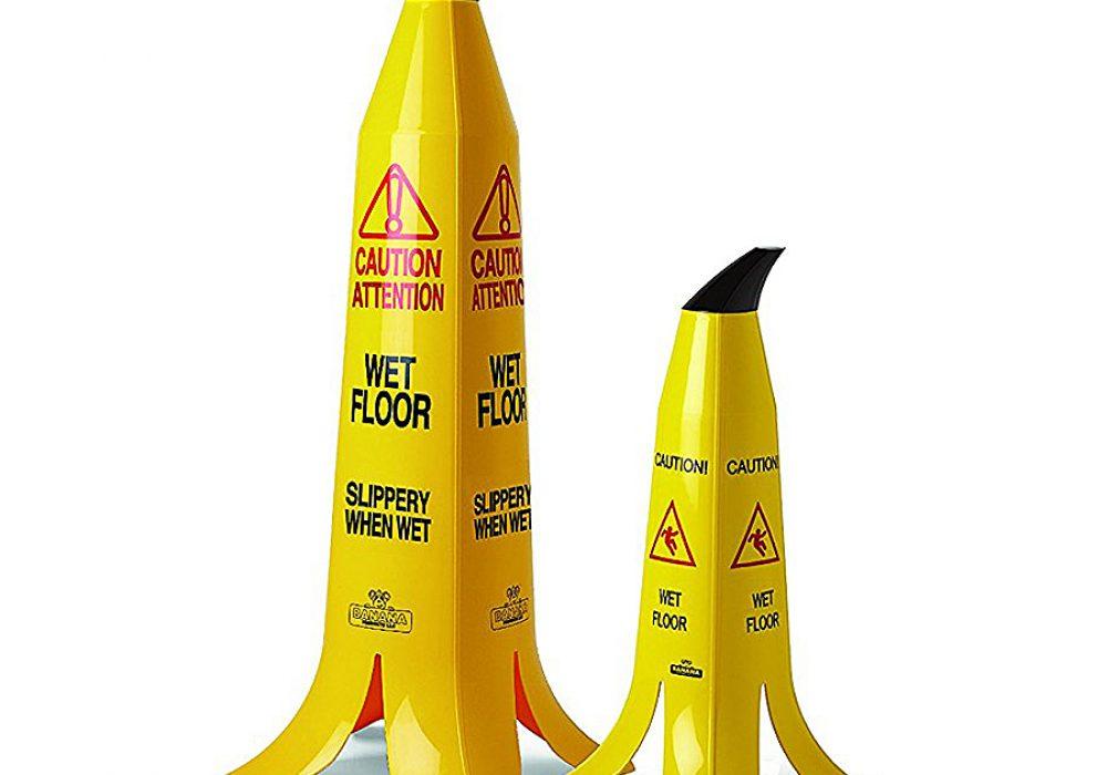 Banana Products Banana Cone Warning