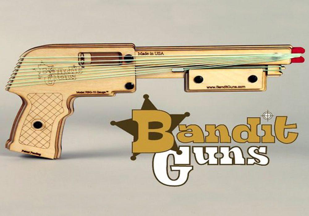 Bandit Guns Cool Rubber band Gun