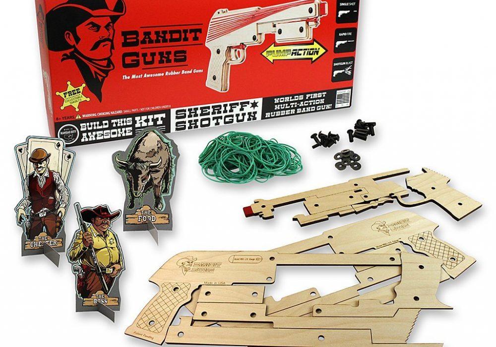 Bandit Guns Cowboy Themed Toy